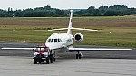 Bild: 10736 Fotograf: Uwe Bethke Airline: Republic of Bulgaria Flugzeugtype: Dassault Aviation Falcon 2000