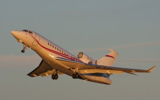 Bild: 13841 Fotograf: Torsten Bleymehl Airline: Volkswagen Air Services Flugzeugtype: Dassault Aviation Falcon 7X