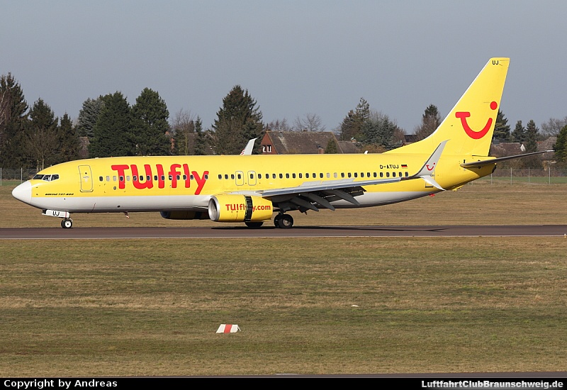 Bild: 12723 Fotograf: Andreas Airline: TUIfly Flugzeugtype: Boeing 737-800WL