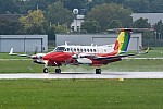 Bild: 13544 Fotograf: Uwe Bethke Airline: Polish Air Navigation Services Agency - PANSA Flugzeugtype: Beechcraft B300 King Air 350i