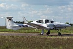 Bild: 14681 Fotograf: Uwe Bethke Airline: Curtis und Partner Flugzeugtype: Diamond Aircraft DA42 Twin Star