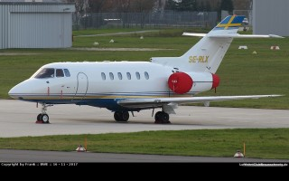 Bild: 16822 Fotograf: Frank Airline: Grafair Flight Management AB Flugzeugtype: Raytheon Hawker 800XP