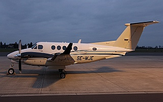 Bild: 16872 Fotograf: Frank Airline: Royal Air Flugzeugtype: Beechcraft B200 Super King Air