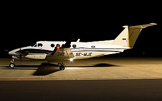 Bild: 16873 Fotograf: Uwe Bethke Airline: Royal Air Flugzeugtype: Beechcraft 200 Super King Air