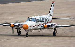 Bild: 16878 Fotograf: Uwe Bethke Airline: Flight Calibration Services Ltd Flugzeugtype: Piper PA-31-350 Navajo Chieftain