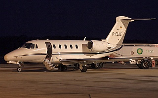 Bild: 16885 Fotograf: Frank Airline: MHS Aviation Flugzeugtype: Cessna 650 Citation III