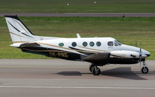 Bild: 16061 Fotograf: Uwe Bethke Airline: Praga Aviation Flugzeugtype: Beechcraft C90A King Air