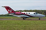 Bild: 16153 Registrierung: G-FBKH Fotograf: Uwe Bethke Airline: Blink Ltd Flugzeugtype: Cessna 510 Citation Mustang