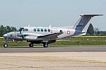 Bild: 16181 Registrierung: AS1227 Fotograf: Uwe Bethke Airline: Armed Forces of Malta Flugzeugtype: Beechcraft B200 King Air