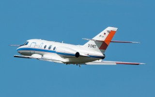Bild: 16228 Fotograf: Uwe Bethke Airline: DLR Flugbetriebe Flugzeugtype: Dassault Aviation Falcon 20E