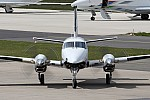 Bild: 16114 Registrierung: OK-PRG Fotograf: Frank Airline: Praga Aviation Flugzeugtype: Beechcraft C90A King Air