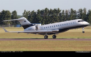 Bild: 16308 Fotograf: Frank Airline: Air National Australia Flugzeugtype: Bombardier Aerospace BD-700 1A10 Global Express