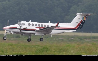 Bild: 16325 Fotograf: Frank Airline: Romania - Civil Aviation Authority (CAA) Flugzeugtype: Beechcraft B300 Super King Air 350