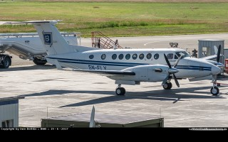Bild: 16355 Fotograf: Uwe Bethke Airline: Julius Berger Nigeria Flugzeugtype: Beechcraft B300 King Air 350