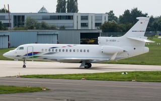 Bild: 16573 Fotograf: Uwe Bethke Airline: Volkswagen Air Services Flugzeugtype: Dassault Aviation Falcon 7X