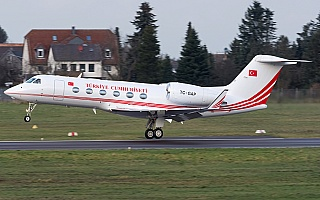 Bild: 16928 Fotograf: Uwe Bethke Airline: Turkey - Government Flugzeugtype: Gulfstream Aerospace G450