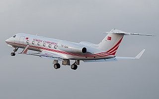 Bild: 16929 Fotograf: Uwe Bethke Airline: Turkey - Government Flugzeugtype: Gulfstream Aerospace G450