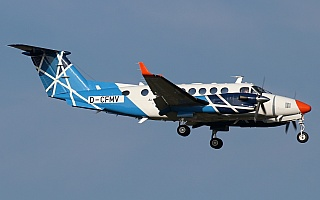 Bild: 18053 Fotograf: Frank Airline: Air Navigation Services of the Czech Republic Flugzeugtype: Beechcraft B300 King Air 350i