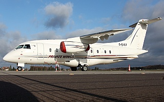 Bild: 18132 Fotograf: Frank Airline: Private Wings Flugzeugtype: Dornier Do 328-300 JET