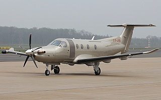 Bild: 17280 Fotograf: Frank Airline: Jetfly Aviation Flugzeugtype: Pilatus PC-12/47E