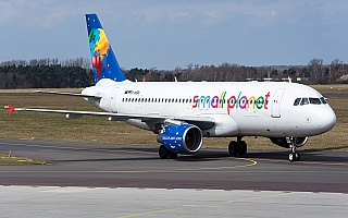Bild: 17176 Fotograf: Uwe Bethke Airline: Small Planet Airlines Flugzeugtype: Airbus A320-200
