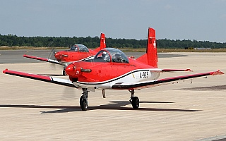 Bild: 17572 Fotograf: Frank Airline: Switzerland - Air Force Flugzeugtype: Pilatus PC-7