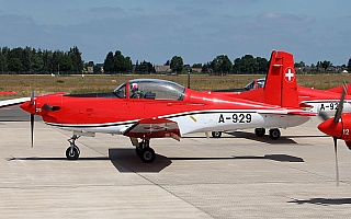 Bild: 17575 Fotograf: Frank Airline: Switzerland - Air Force Flugzeugtype: Pilatus PC-7