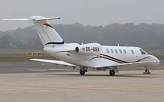 Bild: 19229 Fotograf: Frank Airline: International Jet Management Flugzeugtype: Cessna 525C CitationJet 4+