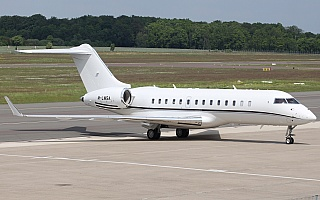 Bild: 18616 Fotograf: Frank Airline: Privat Flugzeugtype: Bombardier Aerospace BD-700 1A10 Global 6000