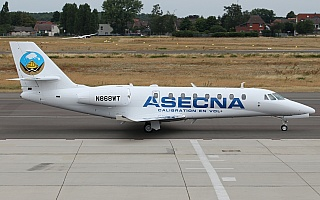 Bild: 18720 Fotograf: Frank Airline: ASECNA Flugzeugtype: Cessna 680 Citation Sovereign+