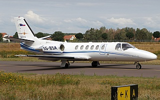 Bild: 18789 Fotograf: Frank Airline: Sky X Airways Flugzeugtype: Cessna 550B Citation Bravo