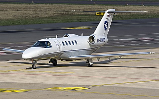 Bild: 19003 Fotograf: Uwe Bethke Airline: Hahn Air Flugzeugtype: Cessna 525C CitationJet 4