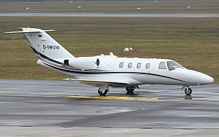 Bild: 19316 Fotograf: Frank Airline: Privat Flugzeugtype: Cessna 525 CitationJet 1