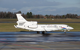 Bild: 19333 Fotograf: Christopher Adam Airline: Volkswagen Air Services Flugzeugtype: Dassault Aviation Falcon 7X