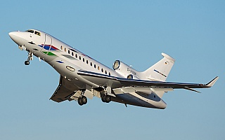 Bild: 20876 Fotograf: Uwe Bethke Airline: Volkswagen Air Services Flugzeugtype: Dassault Aviation Falcon 7X