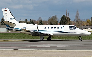 Bild: 21045 Fotograf: Frank Airline: Heli-Flight Flugzeugtype: Cessna 550B Citation Bravo