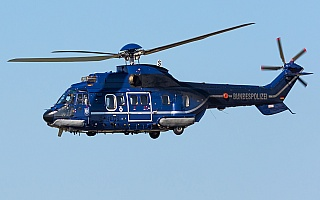 Bild: 21021 Fotograf: Uwe Bethke Airline: Bundespolizei Flugzeugtype: Aerospatiale AS-332 L1 Super Puma