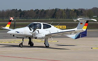 Bild: 21116 Fotograf: Frank Airline: European Flight Academy Flugzeugtype: Diamond Aircraft DA42 NG Twin Star